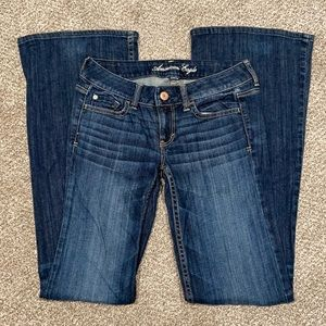 American Eagle Hipster Flare Jeans TALL